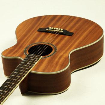 【美国杰肯】jeking f-566cs 40寸吉他 全沙比利哑光民谣吉他 木吉他